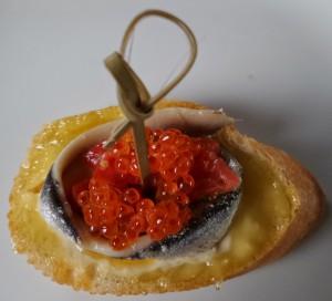 Tosta de Boquerone.
