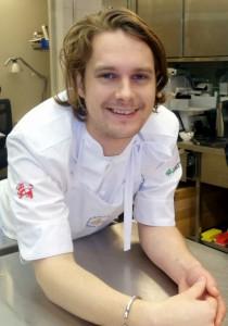 Årets kock 2014 Filip Fasten.