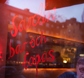 Sardin på Södermalm i Stockholm.